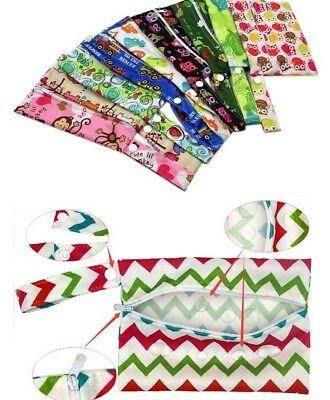 Small Wet Bag Reusable Breast Pads, Wipes, cloth pads - Fast & Free P&P UK Cheap