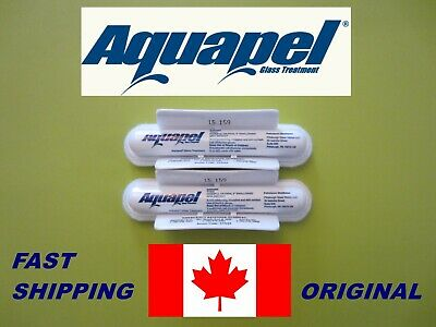 2 PACK AQUAPEL ,Windshield and Glass Applications (Original )
