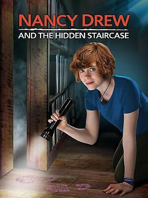 Nancy Drew and the Hidden Staircase (Blu-Ray + DVD + Digital, 2019) LIKE NEW!