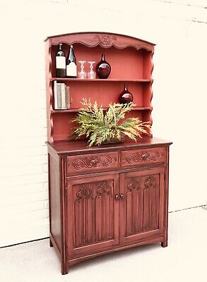 Vintage Oak Farmhouse Welsh Dresser By Jaycee Old Charm