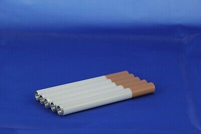 "3"" One Hitter 5 Pack Painted Aluminum Cigarette Bats With Free Domestic Shipping"