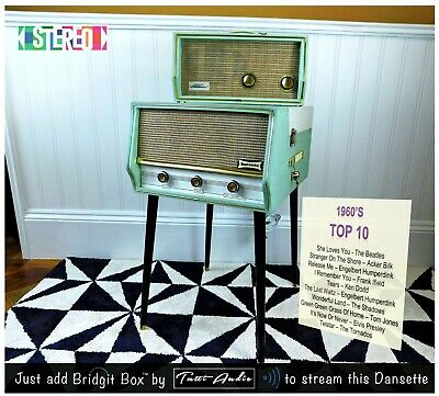 Dansette Conquest Auto Record Player Add-On Stereophonic Powered Speaker