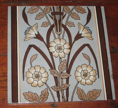 Rare Large Minton Tile Christopher Dresser