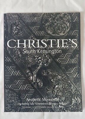 Christies Catalogue Aesthetic Movement Sept02 Tiles Furniture Pottery Metalwork