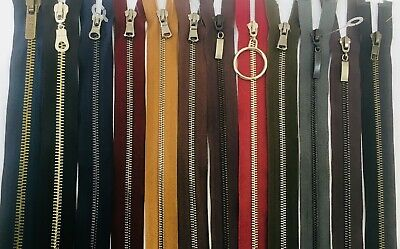 15 Colours High Quality Metal Open Ended  10 Inch To 32 Inch