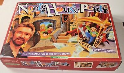 Vintage Waddingtons Noel's House Party Board Game 1993 Gotcha Grab A Grand Etc.