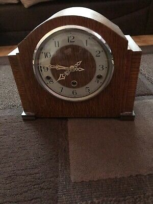 Art Deco Enfield Clock London c1930 Westminister striking chimes
