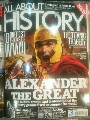 All About History Magazine Issue 9, Alexander the Great, Titanic, WWII