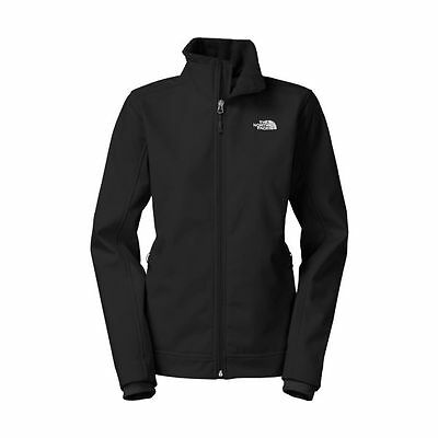 The North Face Women's Chromium Thermal Soft Shell Jacket - Black (XL)