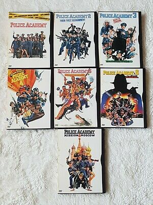 Police Academy - The Complete Collection (7-Disc DVD Box Set, 2004)
