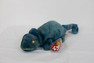 da4ca04ddd9 TY BEANIE BABY Rainbow   Iggy Error Rare Private Collection ...