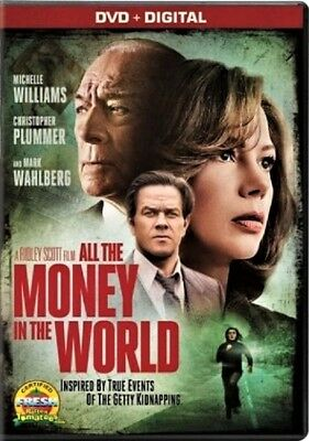 All the Money in the World (DVD 2017 WS) Michelle Williams Mark Wahlberg