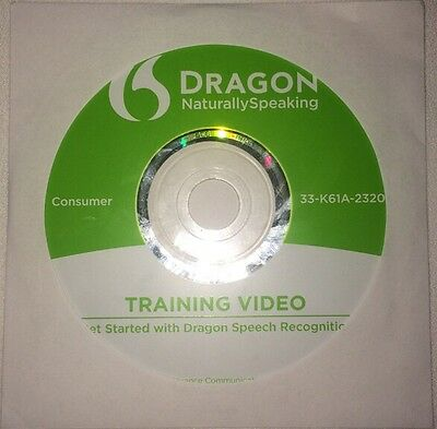 NEWLY RELEASED Nuance Dragon Naturally Speaking 12 Training Video - FAST SHIPPED