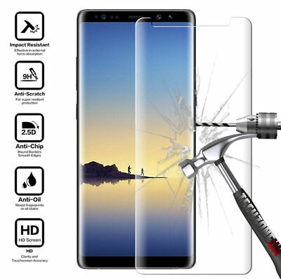 Tempered Glass Screen Protector For Samsung Galaxy S9 S8 S7 Edge Plus Note 8 A5