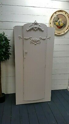 Adorable Vintage Painted Single French Deco Wardrobe Lovely Interior Shabby Chic
