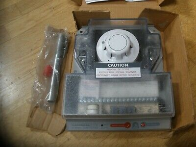 National Time & Signal Ddp-2 Universal Voltage Duct Smoke Detector