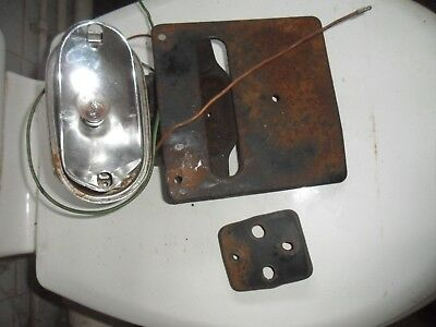 honda cd 175 tail light bracket