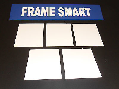 Frame Smart pack of 4 White backing board - all sizes (in inches)