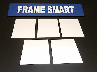 Frame Smart pack of 25 White backing board - all sizes (in inches)