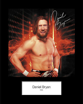 DANIEL BRYAN #2 (WWE) Signed (Reprint) 10x8 Mounted Photo Print - FREE DELIVERY