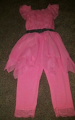 GIRLS OUTFIT PINK 4 to 5 years