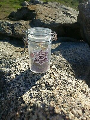 BLACK WITCHES SALT Hoodoo Voodoo Santeria Wicca Pagan Spell