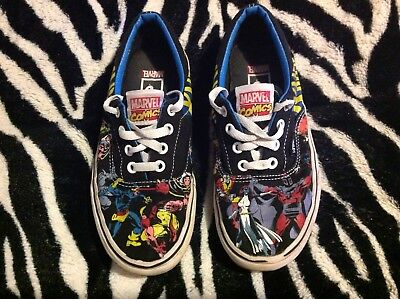 7cff385b0799 RARE 2013 VANS Marvel Spider Man Comics Skate Lace Up Shoes Youth ...