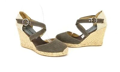 b6f0ddf38da NEW BETTYE MULLER Sz 36 Wedge Espadrilles Made In Spain Back Zip ...