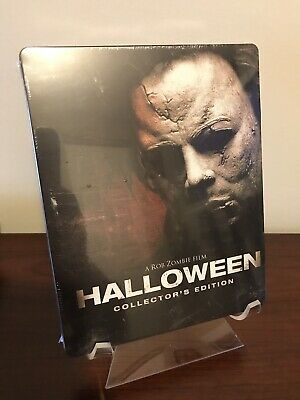 Rob Zombie Halloween Steelbook (2-Blu-Ray Disc Set, Collector's Edition) SEALED!