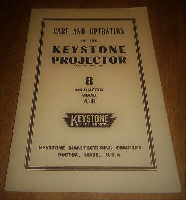 VINTAGE REPLACEMENT PARTS for Keystone Projector 8mm Model
