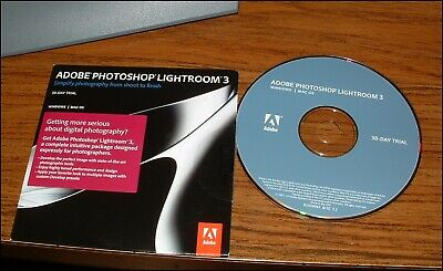 ADOBE PHOTOSHOP LIGHTROOM 3 Windows Mac OS with Serial Number
