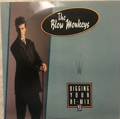 "The Blow Monkeys ""Digging Your Re-mix"" 10"" Single U.K. Import R.C.A. Vinyl EXC!"