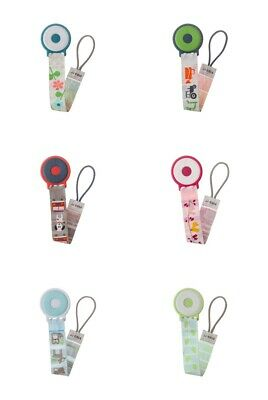 JJ Cole Pacifier Clip Handy Soother Dummy Holder For Newborn Varying Design