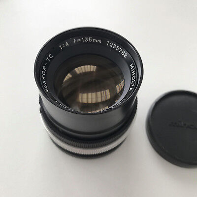 MINOLTA-TC 135mm f4 Lens - LEICA L39 Fit 'VERY GOOD'