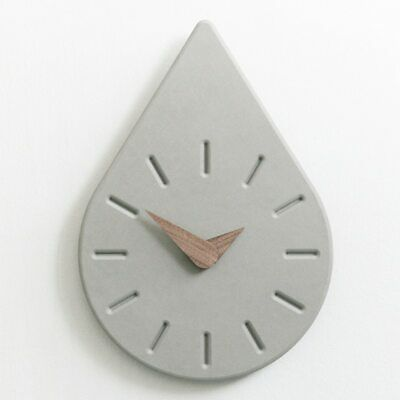 Water drop design wall clock concrete molds Home furnishing handmade silicone