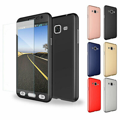 For Samsung Galaxy S8/Plus Slim Case with Screen Protector Shockproof Hard Cover