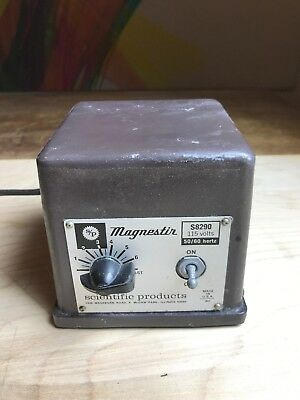American Scientific Products Magnestir S8290 Magnetc Stirrer Tested. Working. Sl