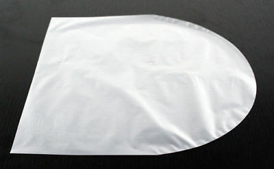 50 pcs Antistatic 12' Record Inner Sleeves Rounded Type HDPE Made in Japan