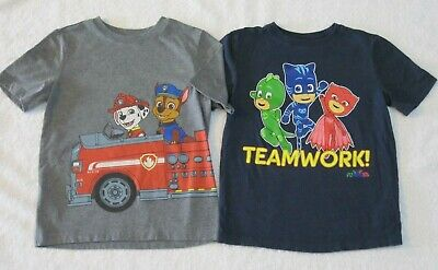 fde4f5bcd 2 OLD NAVY Toddler Boys' T-Shirts 5T Paw Patrol & PJ Masks Gray ...