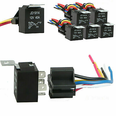 50A IR 100K NO40A-NC20A RL 250K CYCLES, 25A ML RELAY 5 PIN UNIVERSAL
