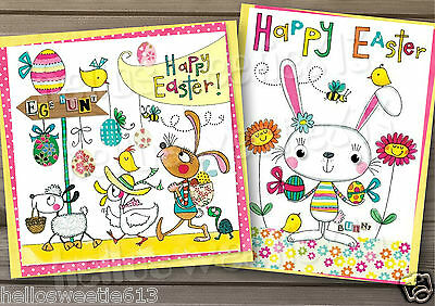 1-10 Easter Greeting Card Various Designs