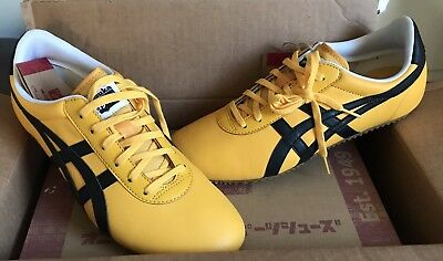info for 98708 04a3d ASICS ONITSUKA TIGER Yellow Kill Bill Shoes Tai Chi Bruce Lee Sneakers 7.5/8