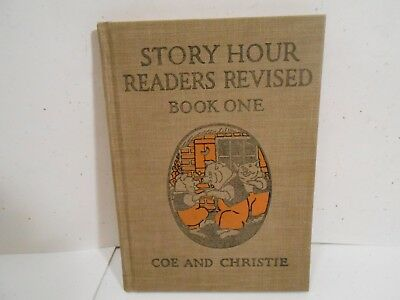 1923 - Three Little Pigs Story Hour Readers Revised Book One Coe and Christie