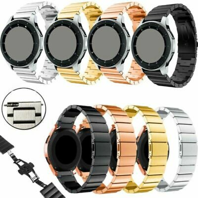Stainless Steel Replacement Band Strap Bracelet Fr Various 20mm/22mm Smart Watch