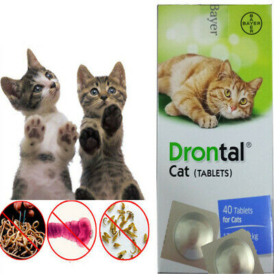 4tablets Drontal Cat Genuine German Product US Free Shipping Best Price