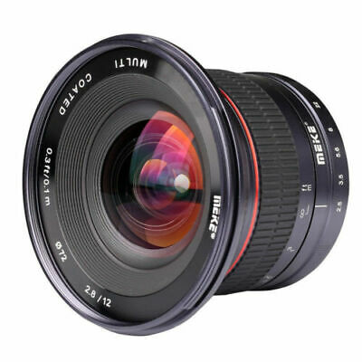 Meike 12mm F/2.8 Ultra Wide Angle Manual Foucs Prime Lens For Fuji Xmount X-Pro1
