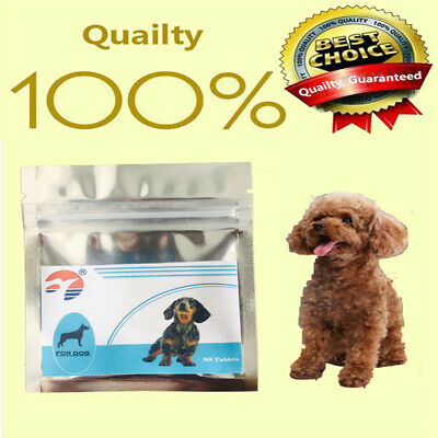 30tabs Dog Worming tablets Wormer Dewormer similarto Droncit Tradewind Tapeworm