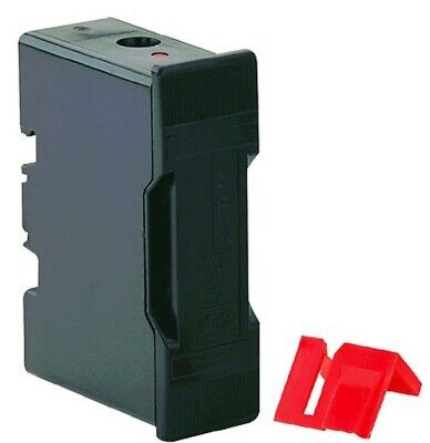 Bussmann SAFECLIP FUSE HOLDER 32A 415V Black- Front Wired Or Back Stud