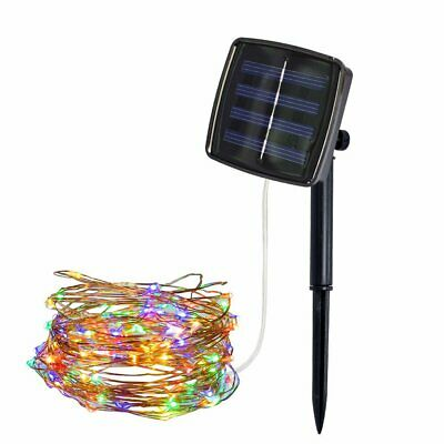 12m 100LED Waterproof Solar String Lights Fairy Strip Lights for Garden,Party