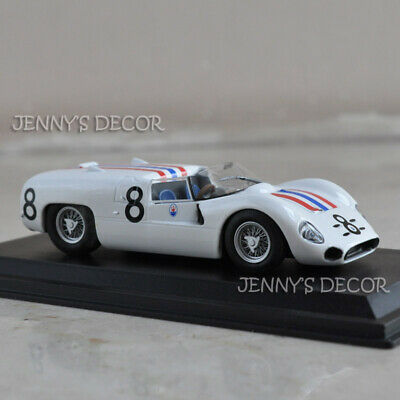 LEO Model Toy 1:43 Vintage Racing Car Maserati Tipo 65 24h du Mans 1965 Replica
